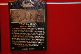 Former Cardinals manager Tony La Russa recently was inducted into the team's hall of fame.