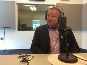 Jeff Aboussie during an appearance on the Politically Speaking podcast.