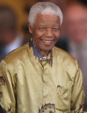 Nelson Mandela, 2008. The United Nations recognized July 18th as Nelson Mandela Day in 2009. This is the first time the day is being celebrated, since his passing in Dec. of last year.  (via Wikimedia Common/'South Africa The Good News')