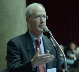 House Budget Chairman Rick Stream, R-Kirkwood, has said a city-county merger is not a practical option.