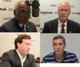 From left, clockwise: Charlie Dooley, Rick Stream, Tony Pousosa, Steve Stenger