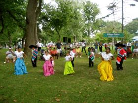 Festival of Nations is one of the events that takes advantage of the city's second largest park.