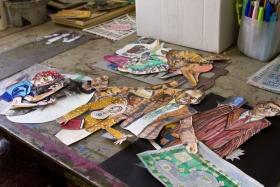 Materials used in Paulsen's film
