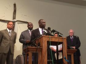Benjamin Crump, an attorney for Brown's family, says the private autopsy was done before the federal government decided to pursue an examination of Brown's body.