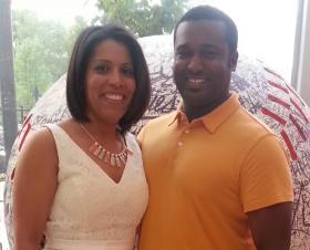 Kathryn and Brandon Banks