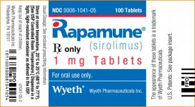 The drug sirolimus, marketed by Pfizer subsidiary Wyeth under the brand name Rapamune, is only FDA approved for use after kidney transplants to prevent organ rejection.