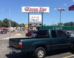 """Zisser Tire and Auto was among businesses in Ferguson that suffered severe damage and looting on Sunday night. Owner John Zisser says it's been an emotional rollercoaster. """"You go through different phases of 'we're going to figure this out,' and then you get mad and then you go back to bed and wake up the next day and go 'I guess I better get back to work.'"""""""