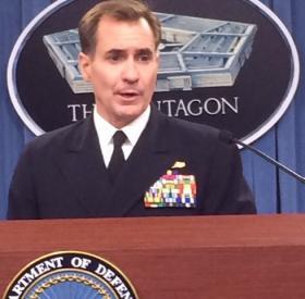 Pentagon Press Secretary Admiral John Kirby