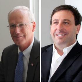Rick Stream, left, and Steve Stenger