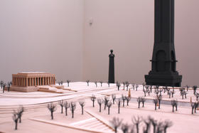 "Sam Durant's ""Proposal for White and Indian Dead Monument Transpositions, Washington, D.C.,"" 2005  Kemper 02"