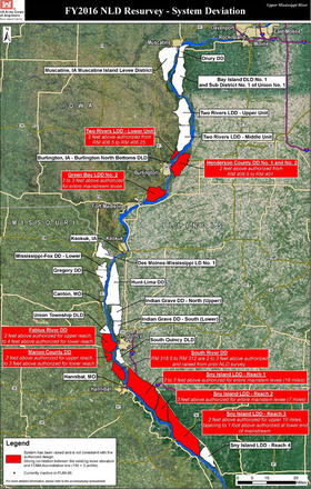 How overbuilt levees are raising flood risks in northeast Missouri ...
