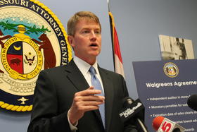 Attorney General Chris Koster's fundraising haul is getting bigger by the quarter.