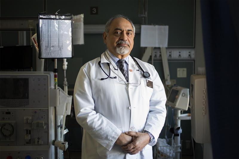 Dr. Bahar Bastani poses for a portrait at Saint Louis University Hospital on March 2, 2017.