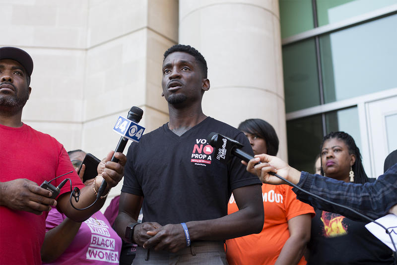 Community activists, including State Rep. Bruce Franks Jr., are asking Gov. Mike Parson to pardon or commute the sentence of Joshua Williams.
