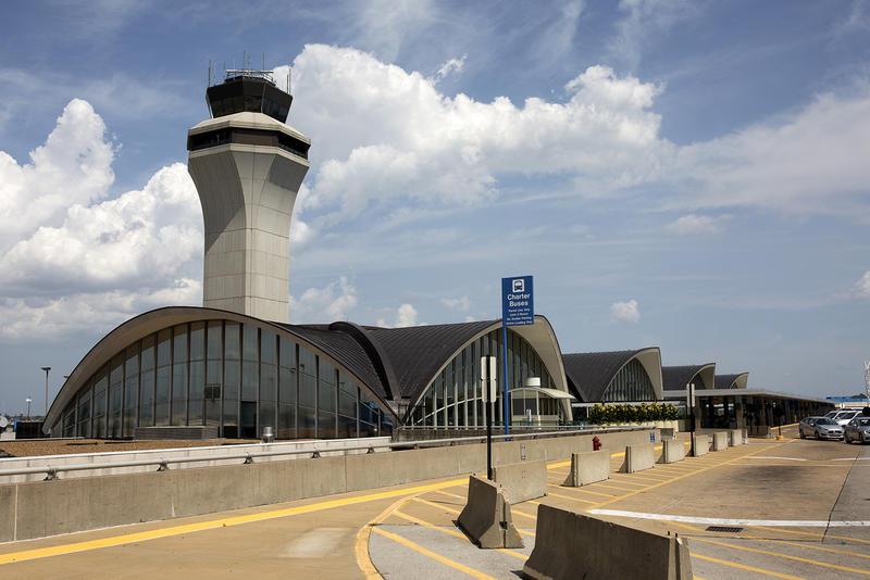 St. Louis Lambert International Airport. August 2018