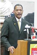 The University of Missouri's new President, Elson Floyd