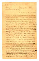 The 1822 freedom petition of a slave named Winny, who claimed her treatment as a slave while living in the free state of Illinois constituted false imprisonment.