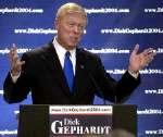 Dick Gephardt is now running for President.