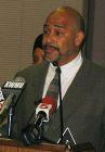 The Concerned Citizens Coalition's Eric Vickers at Metro headquarters Wednesday.