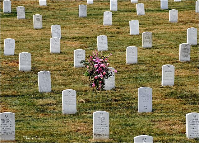 Graves at Arlington National Cemetery