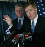 Matt Blunt with Peter Kinder in 2005