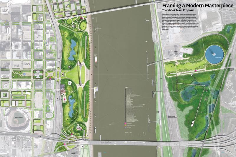 MVVA's site plan from September 2010. (CityArchRiver website)