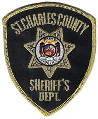 A patch from the St. Charles, Mo. Sheriff's department. Three individuals have been charged in a Christmas Eve shooting near a St. Charles area Bass Pro Shop store. (via Flickr/conner395)