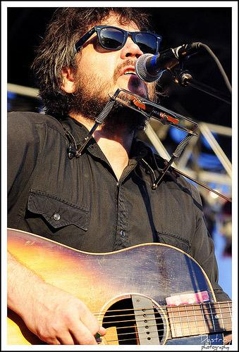 Jeff Tweedy at the inaugural LouFest on August 29, 2010*.