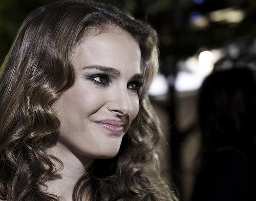 "Natalie Portman, a ""Best Actress"" nominee in the ""Best Picture""-nominated film, ""Black Swan."""