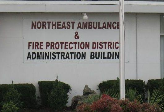 The Northeast Ambulance and Fire Protection district must pay a $5,000 fine for violating the state's open meeting rules. (Rachel Lippmann, St. Louis Public Radio)