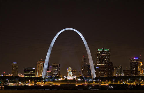 St. Louis skyline, (via Flickr / Keith011764)