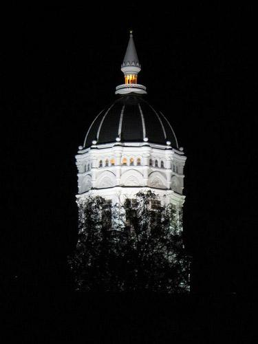 The dome of Jesse Hall at the University of Missouri in Columbia, Mo. (via Flickr/jennlynndesign)