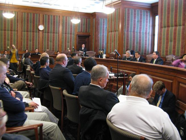 The Mo. Senate Committee on Progress and Development conducts a hearing on the local control bill.