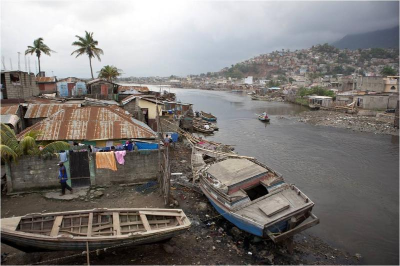 Fort St. Michel, an impoverished neighborhood on the periphery of Cap-Haitien, in northern Haiti. (C. VanArtsdalen)