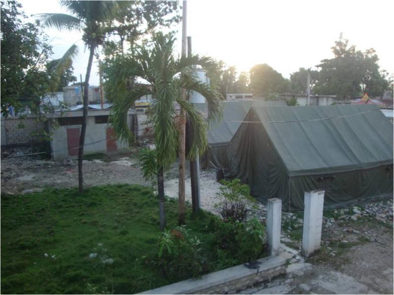 Tents in Leogane, about 35 km west of Port-au-Prince, October, 2010. (L. Iannotti)