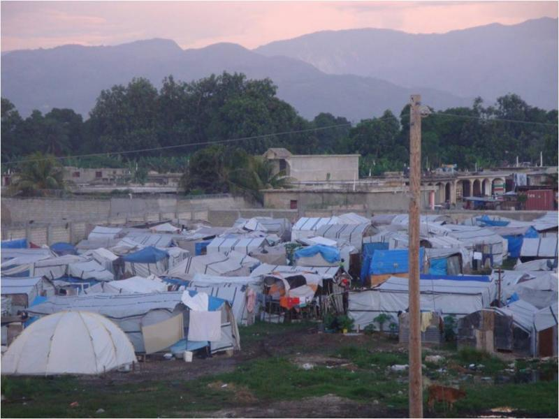 About 1.3 million Haitians are still living in temporary shelters. (L. Iannotti)