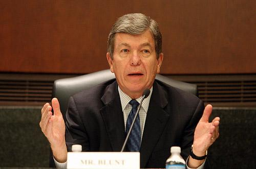 U.S. Rep. Roy Blunt (R-Mo) in St. Louis on July 13, 2010. Blunt shared his remarks on the failed bid for Mo. Republican Ann Wagner to take the top job in their party, Chair of the Republican National Committee, last week. (UPI/Bill Greenblatt)