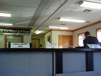 The St. Louis-based company Enterprise Rent-a-Car announced its Enterprise Sustainable Construction Protocol yesterday. This is a photo of one of their many nationwide offices. (via Flickr/The Consumerist)