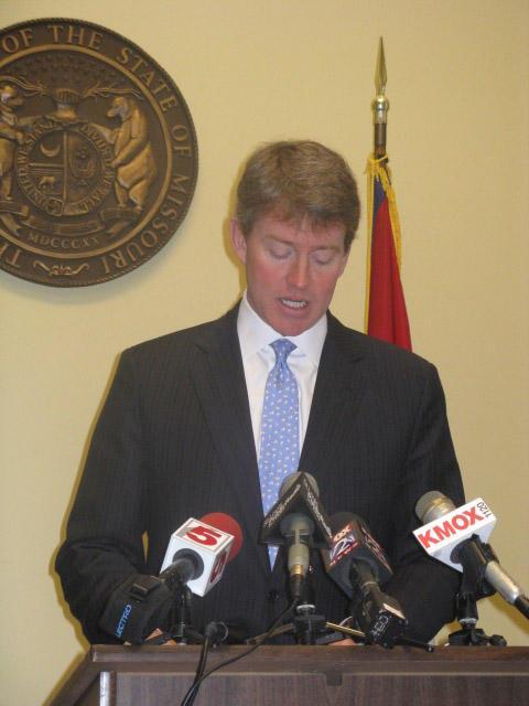 Missouri Attorney General Chris Koster. (Adam Allington, St. Louis Public Radio)
