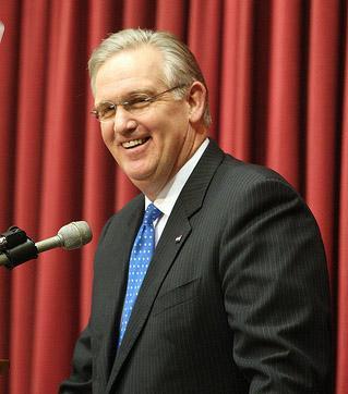 Mo. Gov. Jay Nixon. (UPI/Bill Greenblatt)
