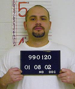 Mo. deathrow inmate Richard Clay. The ACLU says that the state is running out of one of the drugs used in executions. Clay is scheduled to be executed next week. (Missouri Department of Corrections)