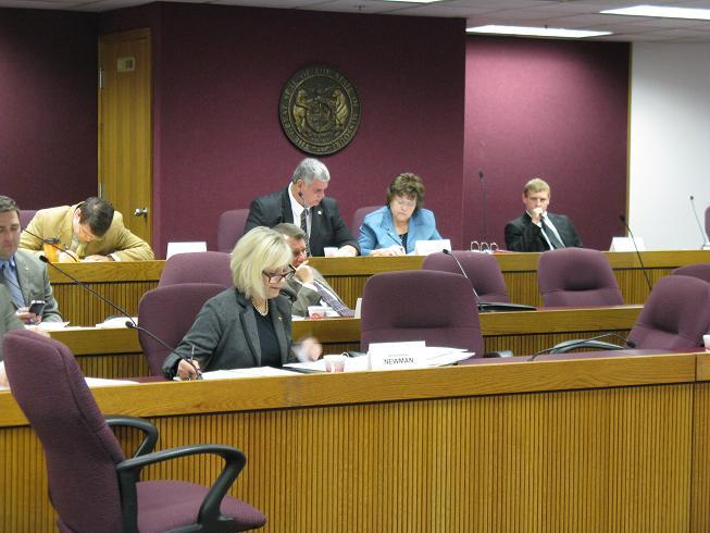 Mo. House Elections committee hears testimony on legislation to require photo identification be shown before voting.