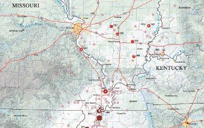 a portion of Geologic Investigations Map I-2812 (US Geological Survey) / Wheeler R.L.
