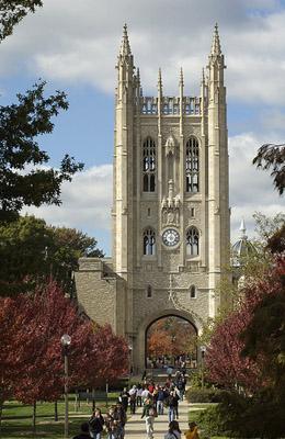 Memorial Union at the University of Missouri in Columbia, Mo. (via Flickr/Adam Procter)
