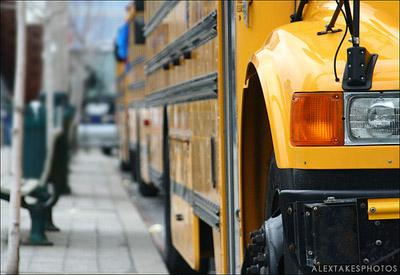Mo. Gov. Jay Nixon released more funding for public school bus transportation today. (via Flickr/Alex Grant (alextakesphotos))