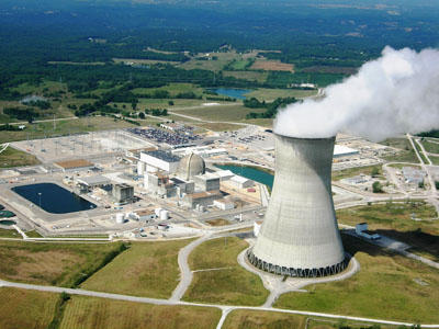 Ameren Missouri's Callaway County plant near Fulton. Ameren and Westinghouse Electric Co. have a plan in the works to build up to five smaller nuclear reactors near the Callaway facility.