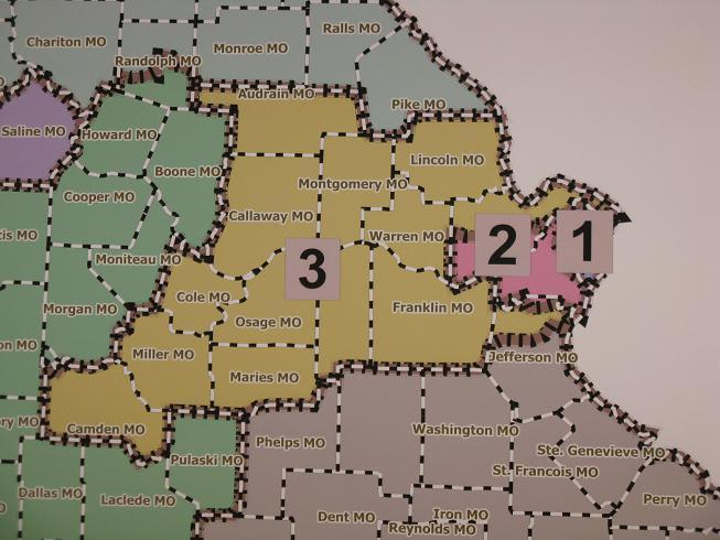 First Mo. congressional redistricting maps released | St. Louis ...