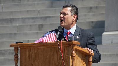 Sen. Jim Lembke, R-Lemay, on April 13, 2010.