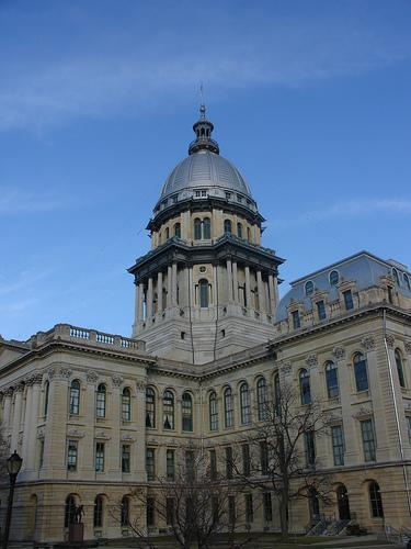 Metro East residents will get to voice their opinion today about redrawing state and federal legislative districts in Illinois