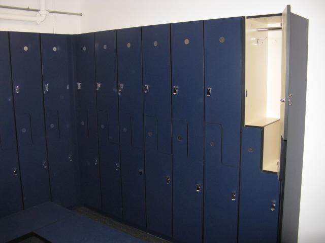 lockers are availeable on a first-come, first-serve basis